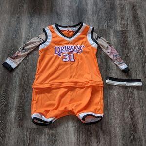Infant basketball costume